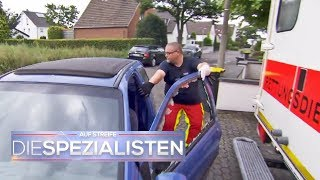 Drama um Patientin: Rettungswagen absichtlich zugeparkt | Auf Streife - Die Spezialisten | SAT.1 TV