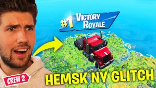 NYA FLYGANDE BILAR GLITCHEN I FORTNITE ÄR HEMSK! *REAGERAR PÅ FORTNITE FUNNY MOMENTS & GLITCHES*