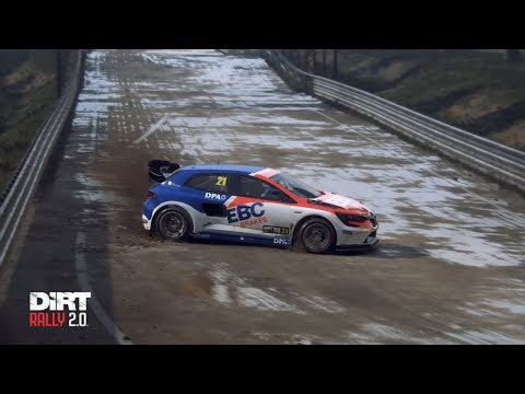 Dirt Rally 2.0 - WRX - Latvia Bikernieki Wet -  Hood/Chase/Replay - 00:45.937