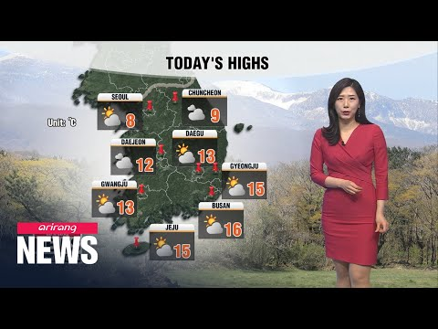 [Weather] Springtime Cold Blast Along With Gusty Winds