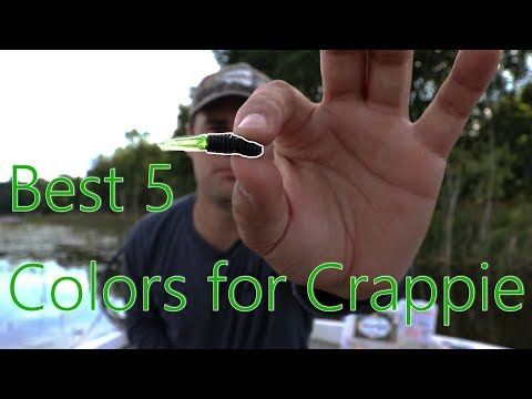 TOP 5 Colors For Crappie | How To Catch Crappie In SUMMER