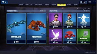 Snowfoot & Vertex Skins (Back)! Fortnite Item Shop March 12, 2019