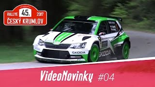 45. Rallye Český Krumlov 2017 - průjezdy a legendární Malonty