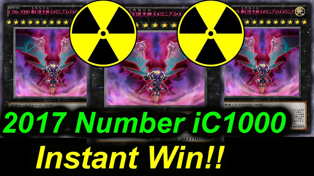 Number IC1000 Numeron Anime Instant Win YouTube