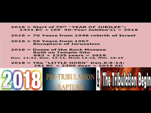 2018 Rapture & Tribulation? YET Another HUGE Sign This MAY Be The Case! WE FLY SOON!!!