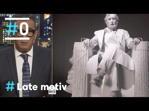 Late Motiv: Conectamos con la estatua de Abraham Lincoln #LateMotiv157| #0