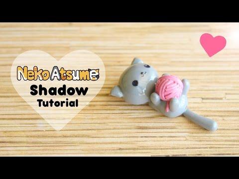 Neko Atsume Shadow & Yarn│Polymer Clay Tutorial