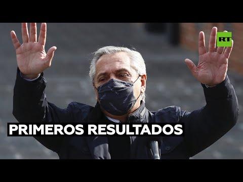Primeros resultados de las elecciones PASO 2021 en Argentina