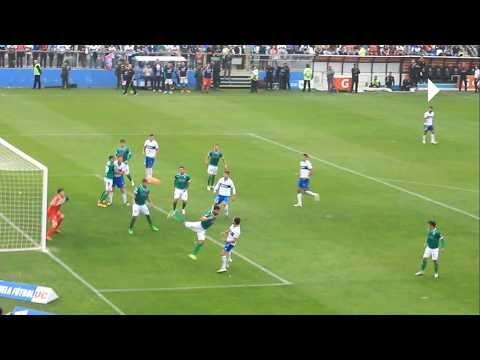 Gol Jose Pedro Fuenzalida UC 2 Audax 1 - UC Campeon Clausura 2016