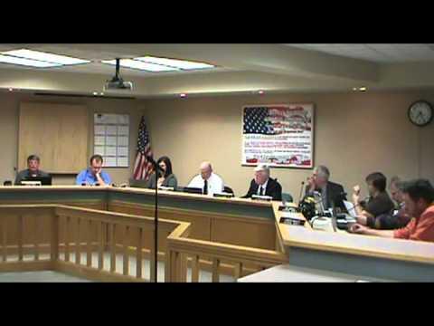 Centralia MO Board Of Alderman Meeting 11/19/12