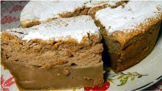 Волшебный Тортик с Какао - невероятно вкусный молочный десерт в духовке!