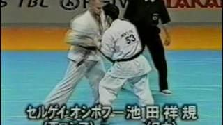 2nd World Weight Category Tournament in 2001. 90 kg division.