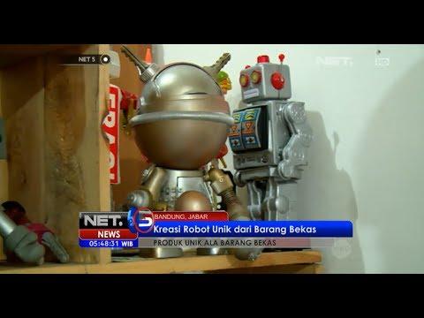 Warga Semarang Sulap Limbah Logam Jadi Robot   Doovi
