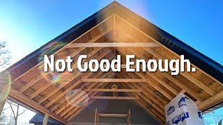 Not Good Enough... Learning From Our Building Mistakes