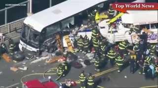 ОЧЕНЬ Страшная авария в США/ Very terrible accident in the United States