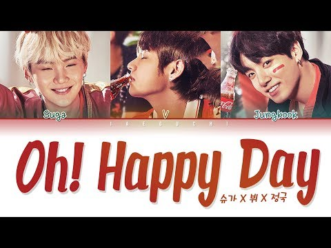 BTS (방탄소년단) - OH HAPPY DAY (Color Coded Lyrics Eng/Rom/Han/가사)