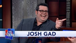 "Josh Gad: Working With Hugh Laurie Was A ""Pain In The Ass"""
