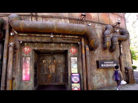 Crazy Arcade in JAPAN!!! - KOWLOON WALLED CITY (Kawasaki Warehouse)