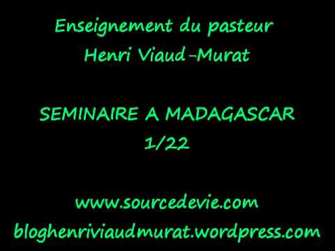 Séminaire à Madagascar 1/22 - Henri Viaud-Murat
