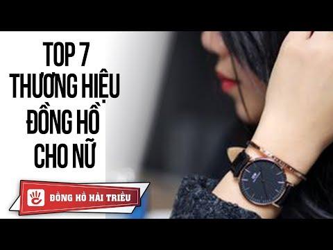 Điểm qua 7 thương hiệu đồng hồ thời trang dành cho nữ nổi tiếng nhất