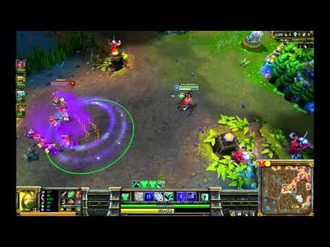 League of Legends Comedy Day 28 Perfect Game Akali