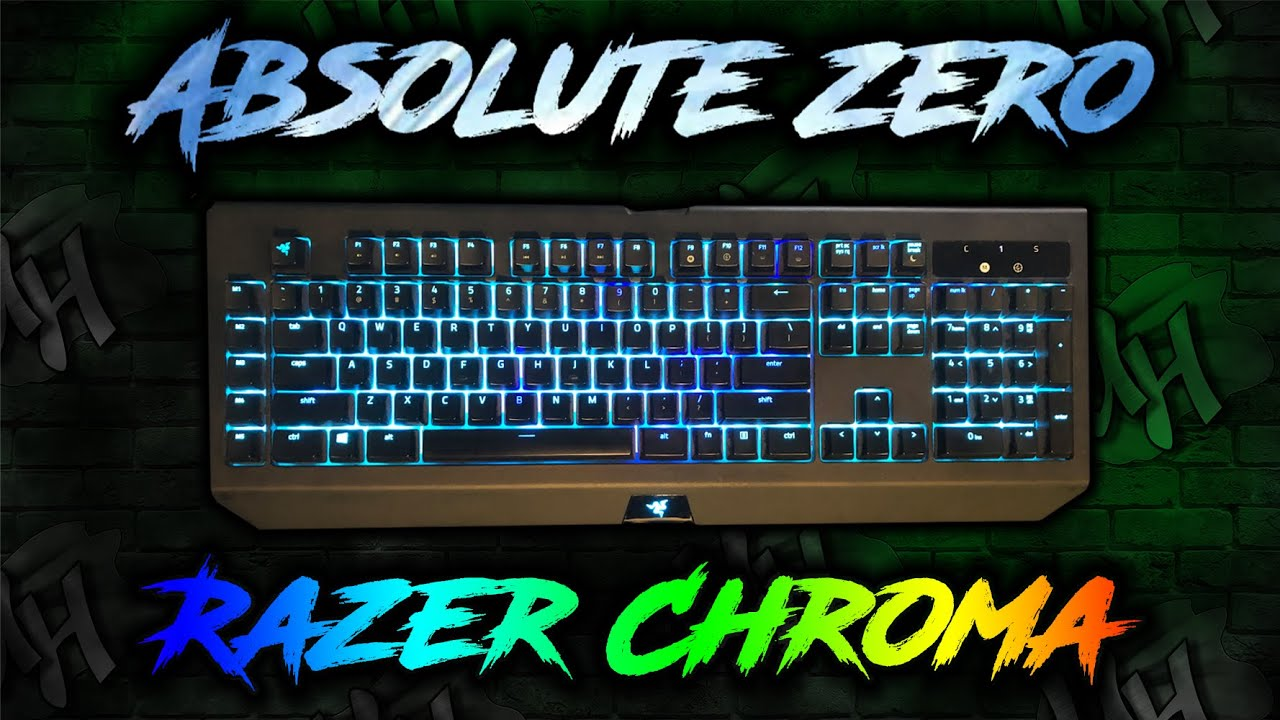 Absolute Zero Keyboard Lighting | Razer Synapse 3
