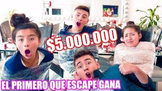 EL PRIMERO EN ESCAPAR GANA $5.000.000 // Familia L