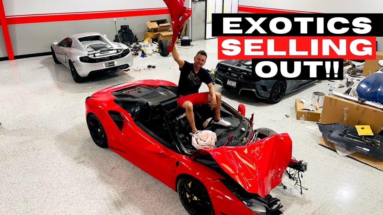 Exotic Car Prices SKYROCKET in 2021!! - Salvage Cars SELLING OUT!! (VIDEO #109)