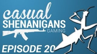 The Casual Shenanigans Gaming Podcast: Episode 20: Battlefield 4 & DayZ with Mantis701!