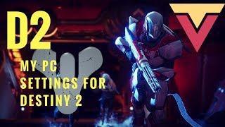 Destiny 2 PC Settings (Key Bindings, FOV, Sensitivity, DPI)