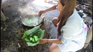 Beautiful girl Cooking   Cambodia Traditional Food   Village Food Factory  part 15