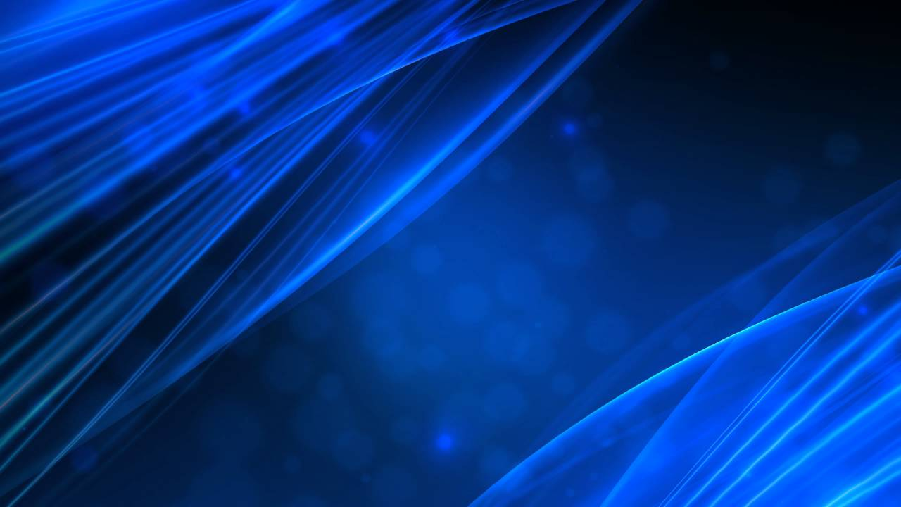 4k 2160p blue ambient waving lines motion background