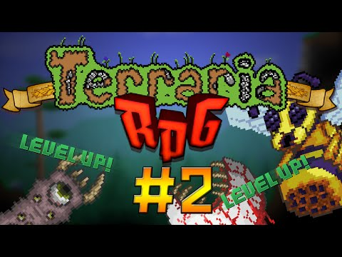 LEVEL UP!! || Terraria 1.3 RPG #2