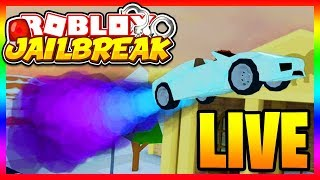 Jailbreak WINTER UPDATE SOON!! 🔴 | SIMON SAYS BREAK THE TRAIN! | Roblox Jailbreak LIVE
