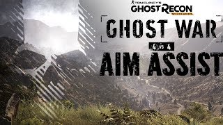 Ghost War - Aim Assist in PVP?