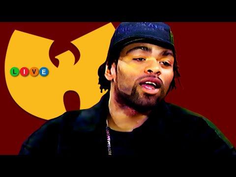 Method Man on Talk Show & Performance (1995) Rare