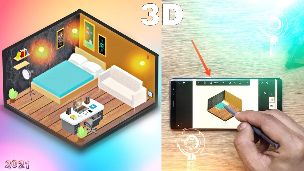 Small Gaming Room Setup Idea 2021 For Small Rooms 3d Design Youtube