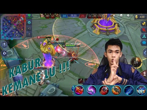 Buset Ini Assasin Jos Banget Gila !!! – Hayabusa Build Review – Mobile Legends #28