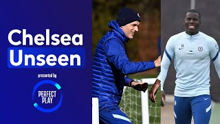 Thomas Tuchel Reacts To Kurt Zouma Losing Count 🙆‍♂️🤣 Tiny Footballs Are Back! | Chelsea Unseen