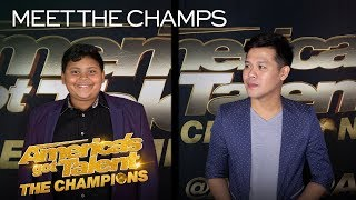 The Competition Is ON For Luke Islam and Marcelito Pomoy! - America's Got Talent: The Champions