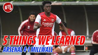 Five Things We Learned | Arsenal 4-1 Millwall