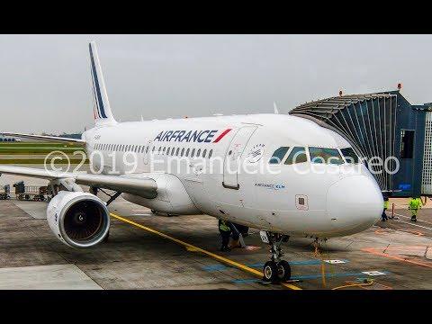TRIP REPORT   AIR FRANCE   AIRBUS A319  Copenhagen Kastrup - Paris Charles De Gaulle   Economy Light