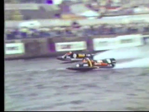 Powerboat Racing In Bristol Docks In 1990 Prt 1