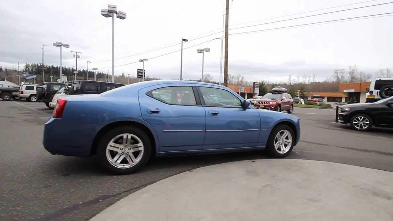 2007 Dodge Charger R/T | Blue | 7H686534 | Mt Vernon | Skagit