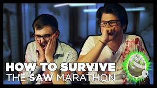 How to Survive: Saw Marathon (Chained to a Wall)