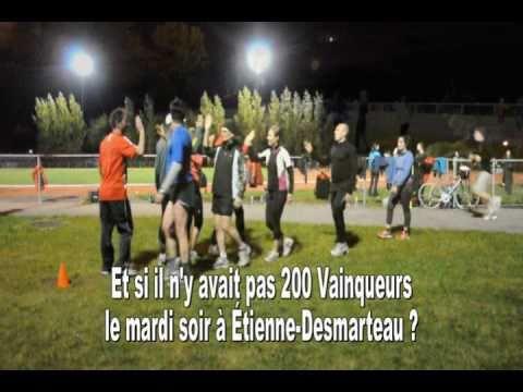 Club Les Vainqueurs - Entraînement de cross-country à Montréal