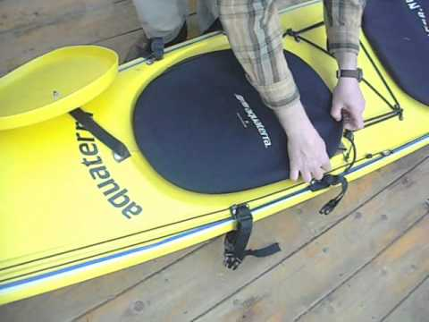 Kayak Double Cover Hatch System