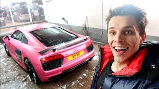 COLLECTING MY PINK R8! WILL IT LAST?
