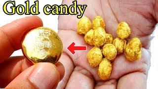 Gold candy melts   golden retriever 24k 99.97 percent How much gold price ? 48.5 gram