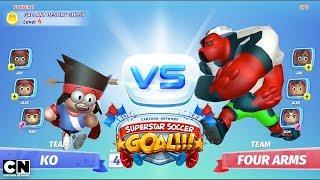 Superstar Soccer   Game Walkthrough   Cartoon Network